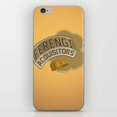 Ferengi Acquisitors iPhone & iPod Skin