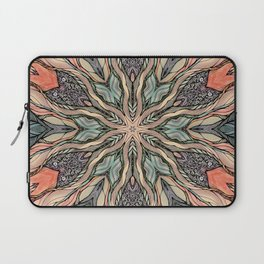 Autumn Leaves Mandala Laptop Sleeve