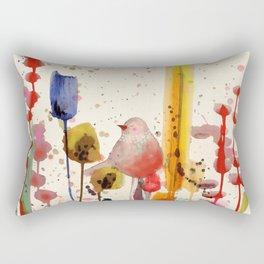 ce doux matin Rectangular Pillow