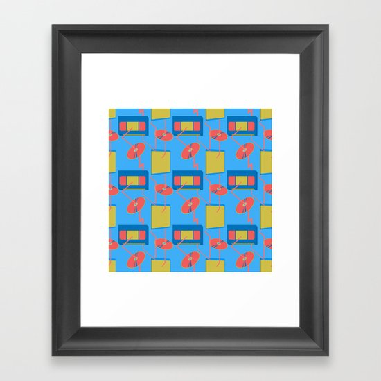 home entertainment Framed Art Print