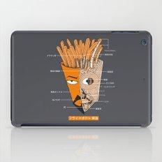 French Fries Anatomy iPad Case