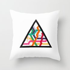 Lonely Triangle Throw Pillow