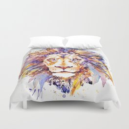 Lion Head Duvet Cover