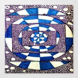 Square vs Circles Canvas Print