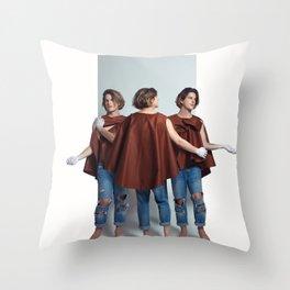 Orphic / The three Graces Throw Pillow