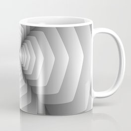 3D Spiral Metal Coffee Mug