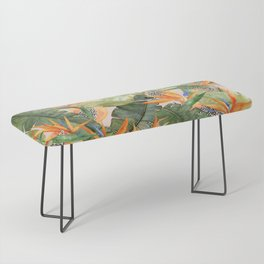 Birds of Paradise Bench