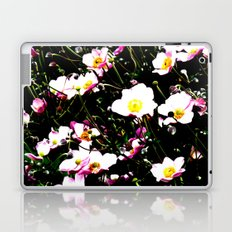 Pink Flowers (Edited)  Laptop & iPad Skin