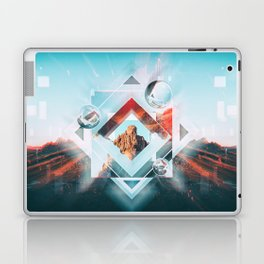 Abstract Geometric Collage I Laptop & iPad Skin