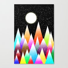 Snow Night Canvas Print
