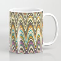 swag Mugs featuring Swag stripe by Shelly Bremmer