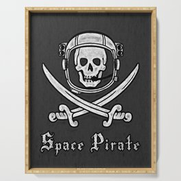 Space Pirate Serving Tray