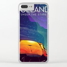 Iceland ' under the stars' Clear iPhone Case