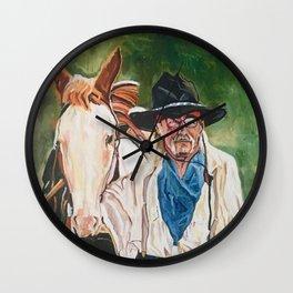 The Cowboy Wall Clock
