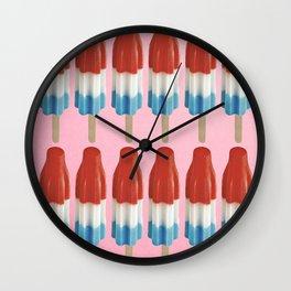 Bomb Pop Summer Wall Clock