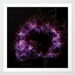 Artificial Constellation Art Print