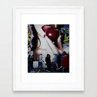john snow Framed Art Prints featuring SNOW WHITE by John McGlynn