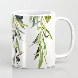 Olive Branch Watercolor  Coffee Mug