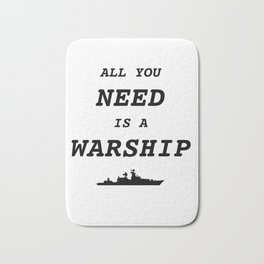 World of Warships - All you need is a Warship Bath Mat