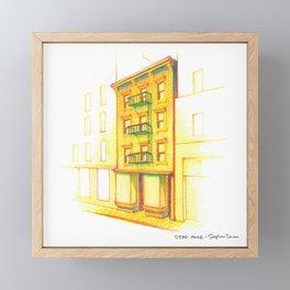 NYC Pride: STAR House Framed Mini Art Print