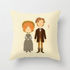 Jane Eyre Throw Pillow
