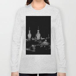 University of Tampa minarets -- negative image Long Sleeve T-shirt