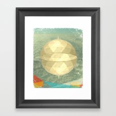 Space Dome Framed Art Print