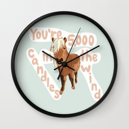 Li'l Sebastian Tribute Wall Clock