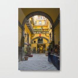 Hidden Naples Metal Print