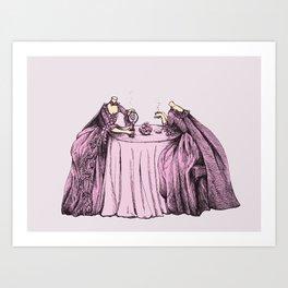 Mindless Conversation Art Print