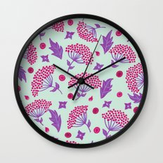 Spring vibes VIII Wall Clock
