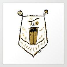 The Golden Bear Art Print