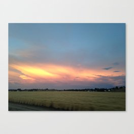 Rural Warmth Canvas Print
