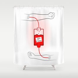Life's Essence Shower Curtain