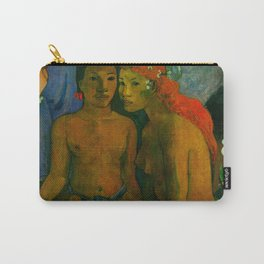 """Paul Gauguin """"Barbarian Tales (Contes barbares)"""" Carry-All Pouch"""