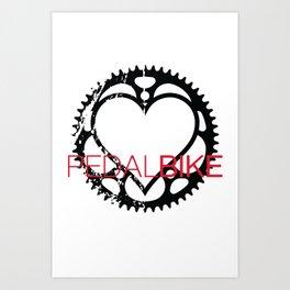 PedalBike Art Print