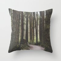vancouver Throw Pillows featuring Vancouver by Tasha Marie