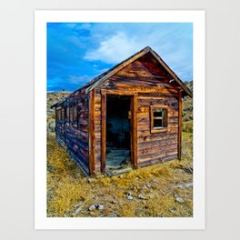 old building Art Print