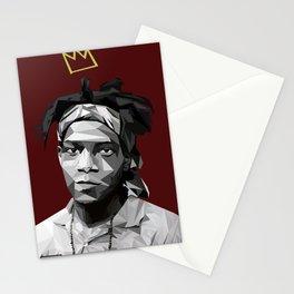 Geometric Basquiat Stationery Cards