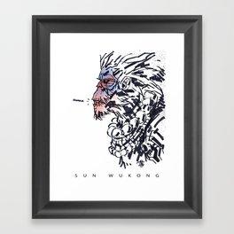 Sun Wukong the Monkey King Framed Art Print