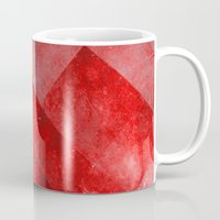 discount Mugs featuring Ruby Nebulæ by Aaron Carberry