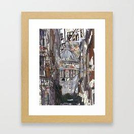 STPAULS Framed Art Print