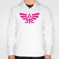 triforce Hoodies featuring Contrast Triforce by Rebekhaart