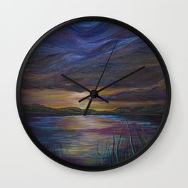 out of darkness comes light Wall Clock