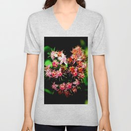 Cacti (Cactaceae) Unisex V-Neck
