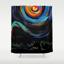 endless space Shower Curtain