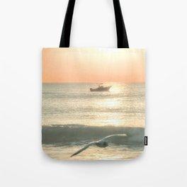 Fishermans Sunrise 4 by Murray Bolesta Tote Bag