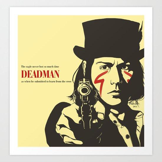 Deadman Art Print