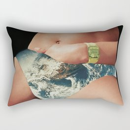 66 - happiness is only seconds away Rectangular Pillow