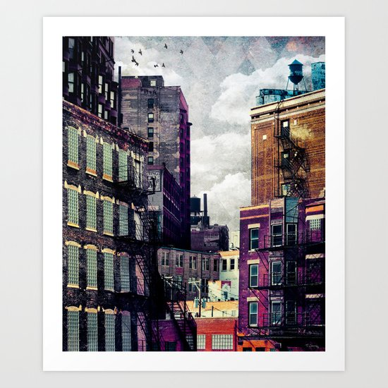 The Rooftop #2 Art Print